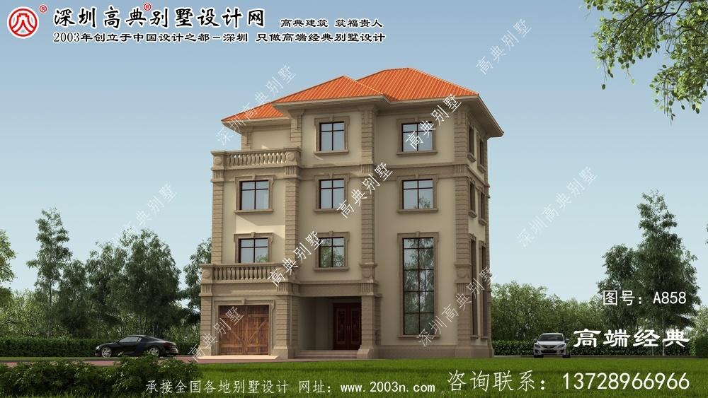 光泽县四层复式豪宅别墅设计图片