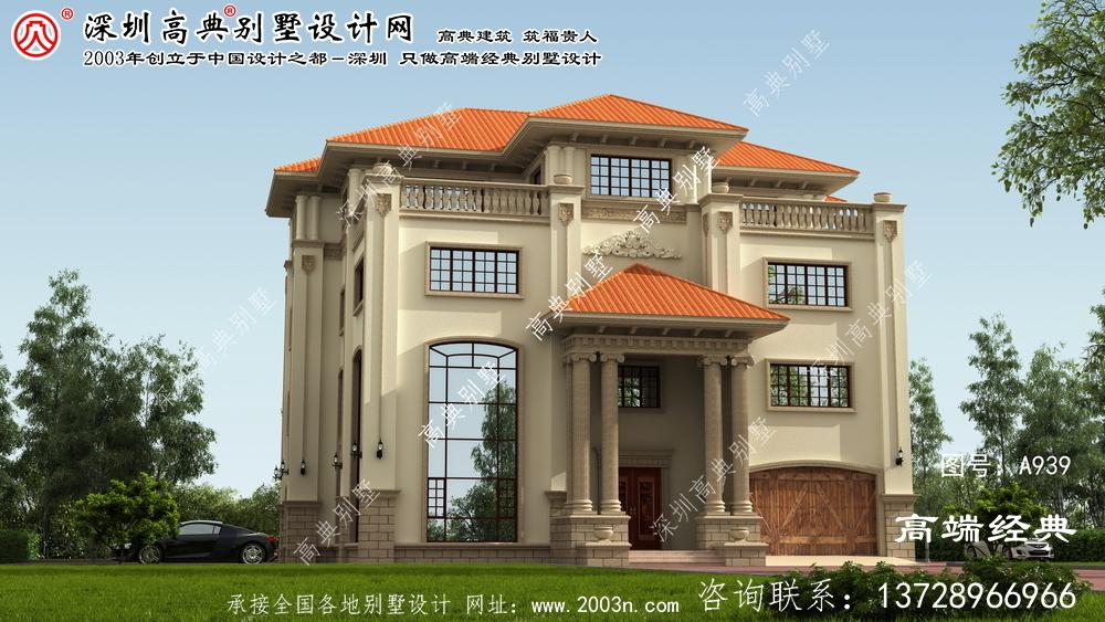 崇义县私家别墅围墙景观