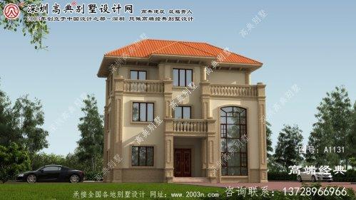 汶上县全套别墅设计图