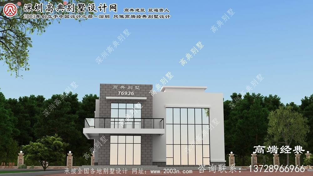 奈曼旗农村自建别墅设计图