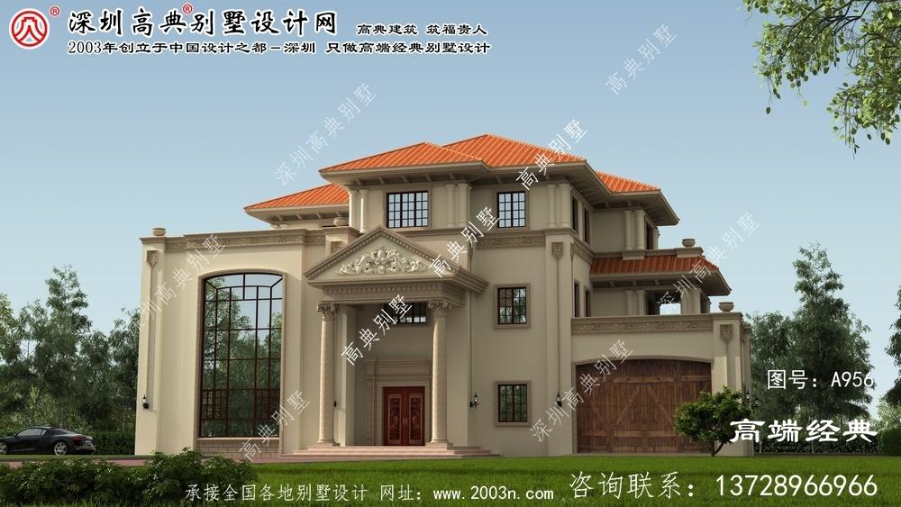 江夏区别墅平面图纸设计