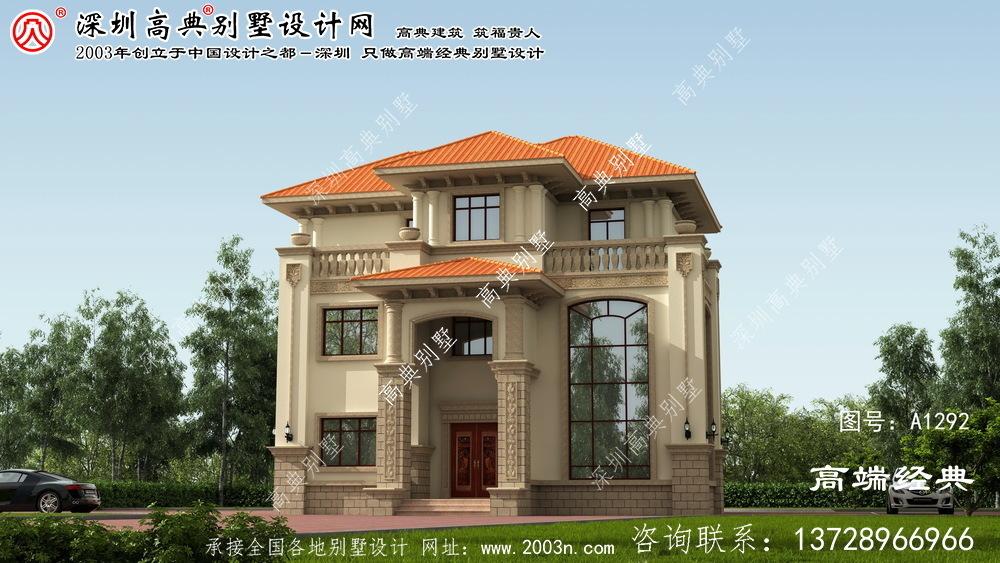 凤凰县大户型别墅设计图