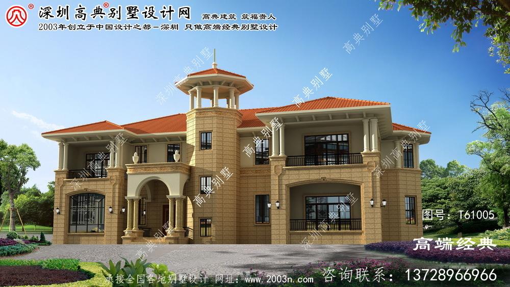 荣县小别墅设计图纸