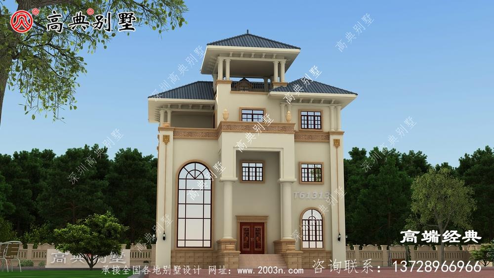 泸定县农村房子设计外观图