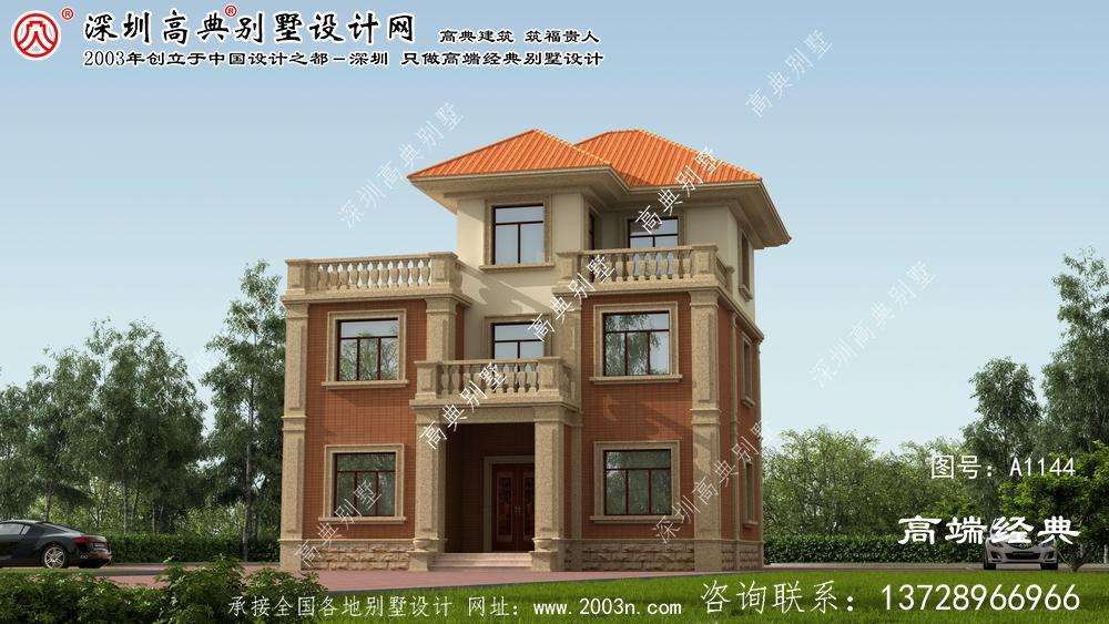 博白县三层别墅不贵,至少能建30万。