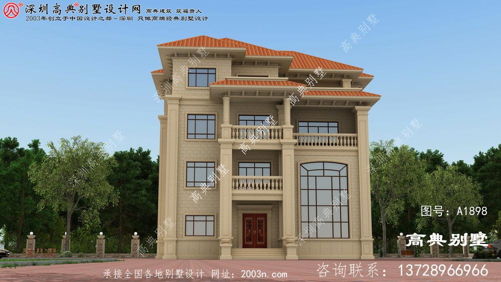 巨野县精致豪华的现代三层别墅
