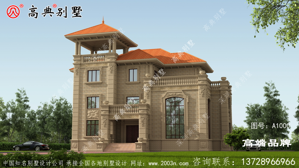 二层半农村别墅满足大家的居住体面需求