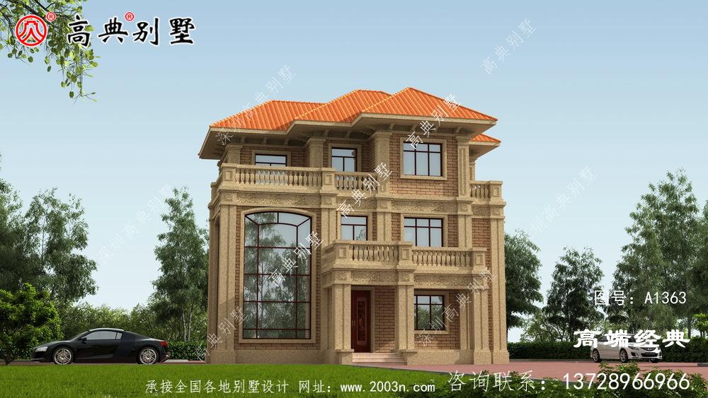 让建房人很青睐的欧式风格