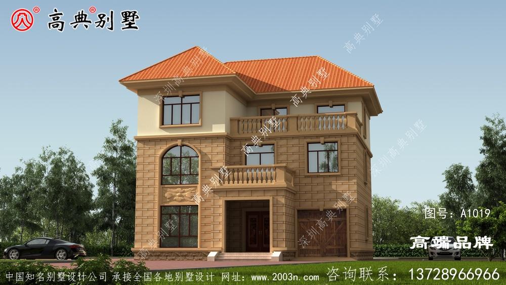 造价经济,建成又是全村地标性建筑