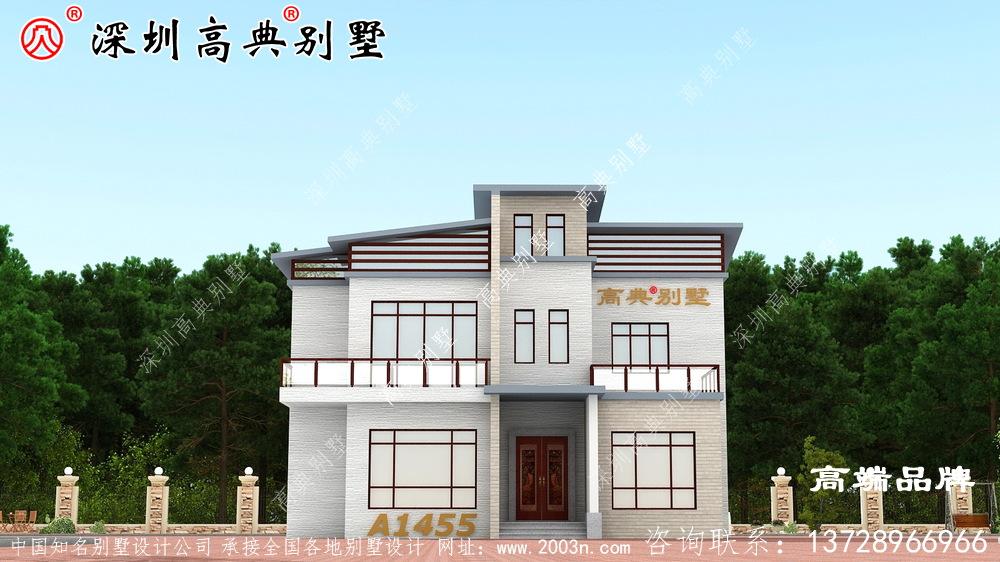 三层别墅设计图,经济实用户型精美