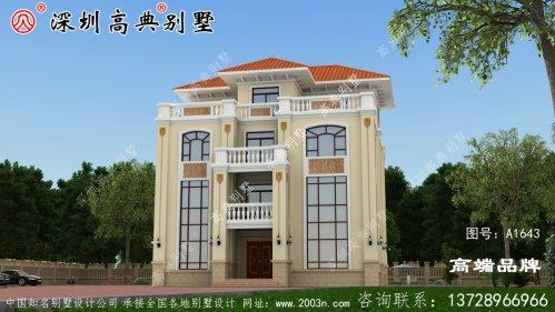 四层别墅设计图,21万