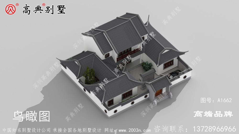 农村的生活质量得到了提高,住宅也变成了一栋栋的别墅