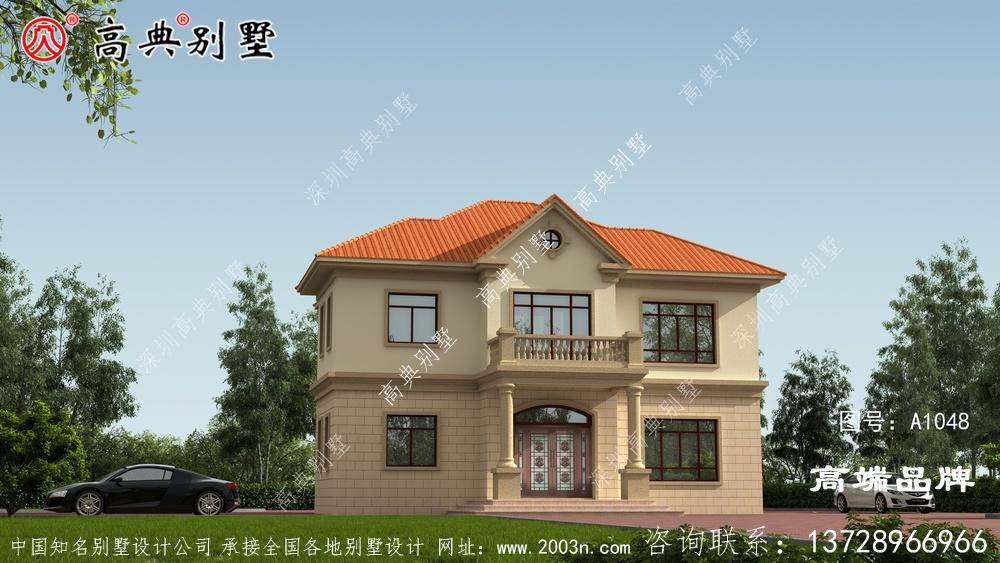 建一栋好别墅就是体面到全村