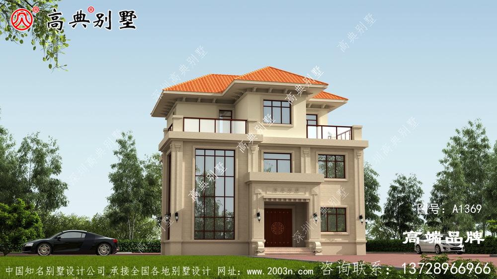 又一欧式三层别墅,有钱一定要建的别墅