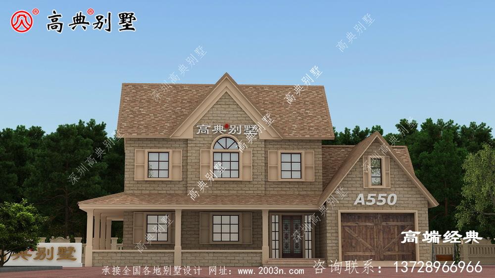 外观结构经典耐用,虎窗设计让整个建筑更加时尚